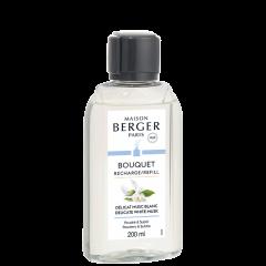Navulling 200ml Parfumverspreider Délicat Musc Blanc