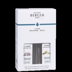 Duopack Lampe Berger Huisparfum Glaçon 250ml