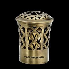 Luxe metalen sierdop met bronzen finish